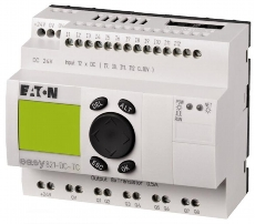 EATON EASY RELÉ EASY821-DC-TC 24VDC 12DI (4AI) 8DO 256273