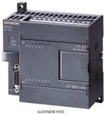 SIE 6ES7212-1AB23-0XB0 SIMATIC S7-200, CPU 222 COMPACT UNIT, DC POWER SUPPLY 8 DI DC/6 DO