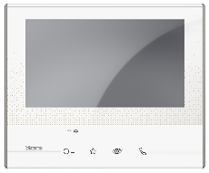 LEGRAND BT 344612 BT CLASSE300 VIDEO 7INCH BÍLÁ