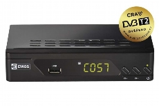 EMOS SET-TOP BOX DVB-T2 EM170 HD HEVC H265 J6009
